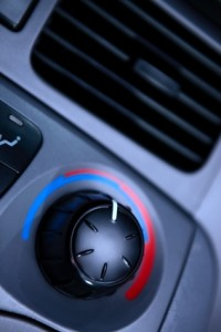 Car Air Temperature Knob